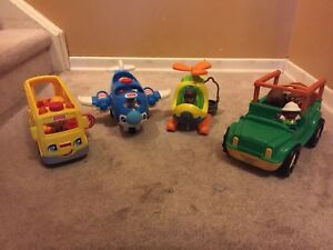 Fisher-Price Little People Vehicles