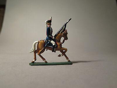 6992:RITTER Zinnfigur,uniformierter Reiter Nr. 509,bemalt,aus Sammlung.