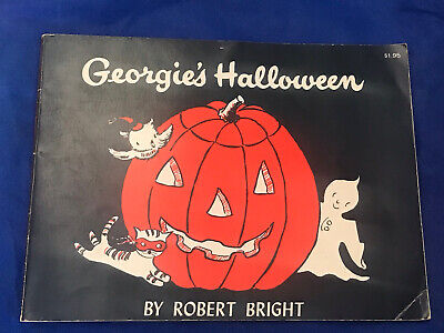 Vtg Georgie's Halloween By Robert Bright Paperback 1958 Childrens Book 1490