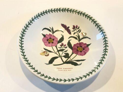 "Portmeirion Botanic Garden 8 1/2"" Pasta Bowl- Purple Rock Rose"