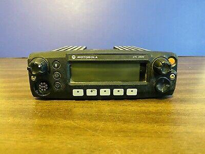 Motorola Xtl 2500 Mobile Radio Model M21urm9pw2an 800 Mhz Radio Head Only