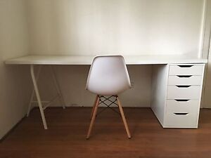 Complete IKEA desk set with replica Eames chair included Bondi Beach Eastern Suburbs Preview