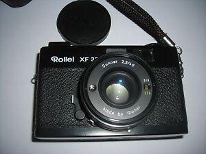 Rollei XF 35 35mm Sonnar 40mm F/2.3 son flash rollei 100 XL et pochette rollei - France - État : Occasion : Objet ayant été utilisé. Objet présentant quelques marques d'usure superficielle, entirement opérationnel et fonctionnant correctement. Il peut s'agir d'un modle de démonstration ou d'un objet retourné en magasin aprs un - France
