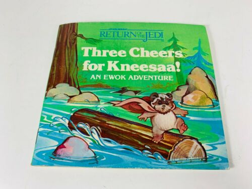 Star Wars Three Cheers for Kneesaa Return of the Jedi Story Book Ewoks AS IS