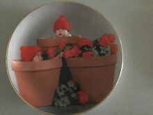 Anne Geddes 'Terracotta Pot Babies' Plate Belmont Lake Macquarie Area Preview