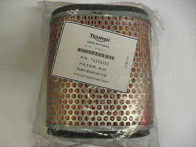 GENUINE TRIUMPH ROCKET 3  TOURING  CLASSIC AIR FILTER CLEANER FILTER