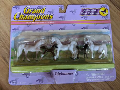 Empire Grand Champions Micro Mini Horse Collection - Lipizzaner