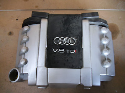 Audi A8 4e Q7 Engine Cover V8 Tdi Cover Diesel Engine Lining Upper 4.2