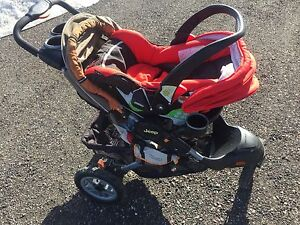 Stroller and Car Seat