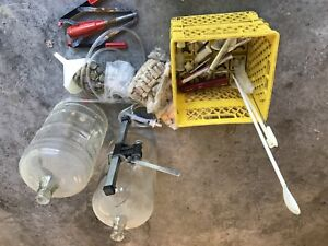 Beer and wine making equipment