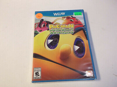 Pac Man and the Ghostly Adventures (Nintendo Wii U, 2013) BRAND NEW pacman