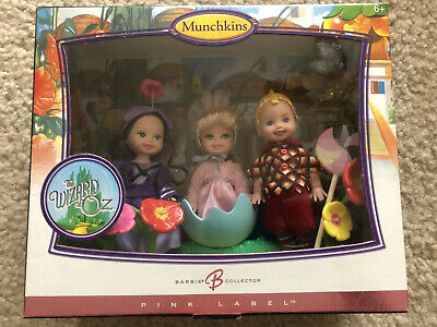 Munchkins Kelly /& Tommy Doll Mattel K9413 Wizard of Oz