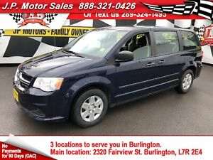 2013 Dodge Grand Caravan SE, 3rd Row Seating, Stow N Go Seating