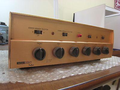 Harman Kardon refurbed A230 stereo tube integrated amplifier, 6BQ5/EL84, 15 WPC