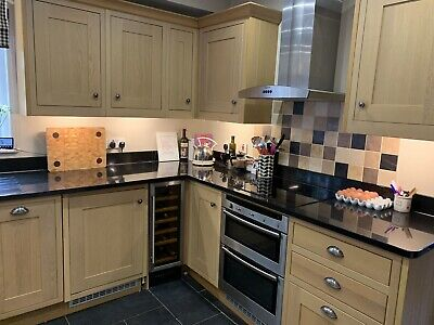 Second Hand Kitchen/Granite Worktop/Wine Cooler/Induction Hob/Neff Oven