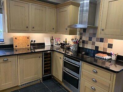 Second Hand Kitchen/Granite Worktop/Wine Cooler/Induction Hob/Neff Oven