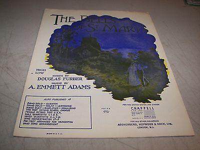 The Bells Of St  Marys Sheet Music Douglas Furber A  Emmett Adams