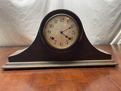 Vintage Antique Waterbury Mantle Clock Made In USA