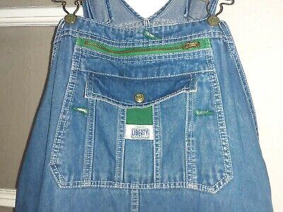 Vintage Overalls & Jumpsuits Vintage Liberty Denim Overalls Carpenter Jeans Bibs 40x30 $20.97 AT vintagedancer.com