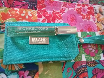 Michael Kors Eau De Parfum roller ball and travel tag