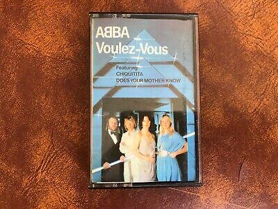 ABBA Voulez Vous 1979 Album Cassette, Epic Label