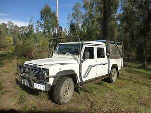 1995 Land Rover Defender Twin Cab Ute (Dual Cab) Narbethong Murrindindi Area Preview