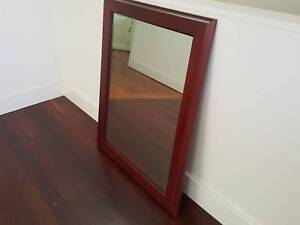 Large solid timber mirror (80 x 100)