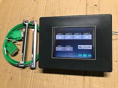 Automation Direct Ea7-s6c Color Touch Screen Operator Interface Hmi Ea-2cbl-1