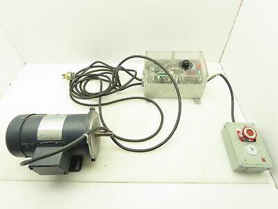 Leeson 098004.00 Electric Motor 13 Hp 1750 Rpm 90 Volt Vdc W Motor Controller