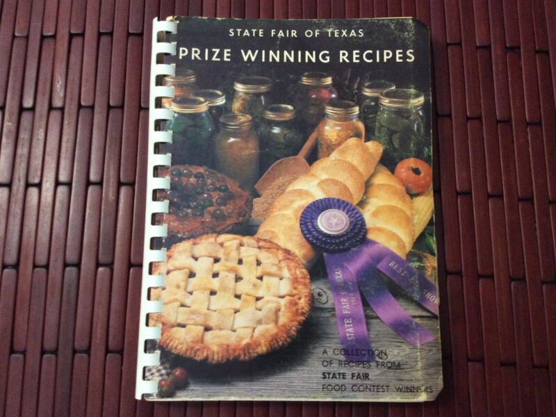 Vintage 70s? State Fair of Texas Prize Winning Recipes Spiral Cookbook 1978? FS