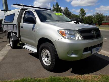 2007 Toyota Hilux Ute, 4X4, Turbo diesel, flat tray Invermay Launceston Area Preview