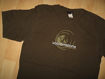 Volcom Shirt Khaki (Volcom Stone Tee - Surfing Ocean Fashion Khaki Green Board Logo T Shirt Medium)
