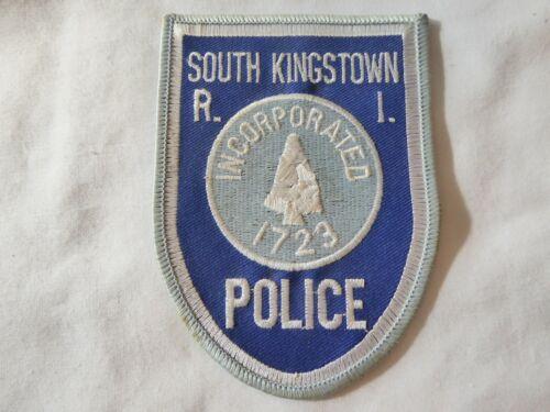 RHODE ISLAND SOUTH KINGSTOWN POLICE UNIFORM EMBLEM PATCH