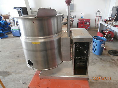 Cleveland Range Electric Tilting Soup Jacketed Steam Kettle 6 Gallon Ket-6-t