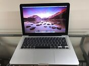 Apple MacBook Pro 13 Pre-Retina UPGRADED 8GB RAM 1TB SSD HYB ~  2 YEAR WARRANT