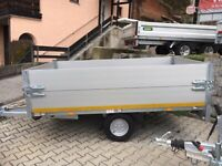 Einachs-Anhänger mit Bordwandaufsatz, 750 kg, 2560 x 1500 x 600 m Bayern - Deggendorf Vorschau