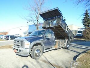 2010 Ford F-450 XL,ONLY 45164km,12ft Dump box.