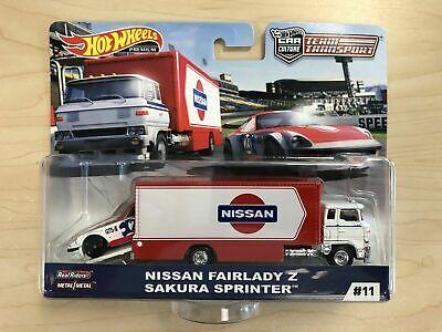 Hot Wheels Car Culture Team Transport  Nissan Fairlady Z & Sakura Sprinter - #11