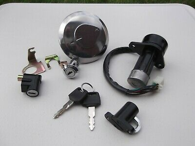 Lock Set Ignition Switch Key Barrel Cap Lexmoto Assault (HJ125-J) (CARB MODEL)