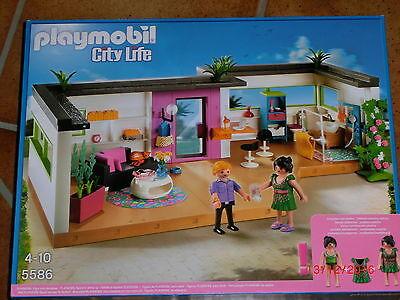 Playmobil 5586 Gästebungalow f. Luxusvilla 5574,City life, Puppenhaus, NEU / OVP