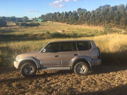 Wanted: Toyota 2001 prado