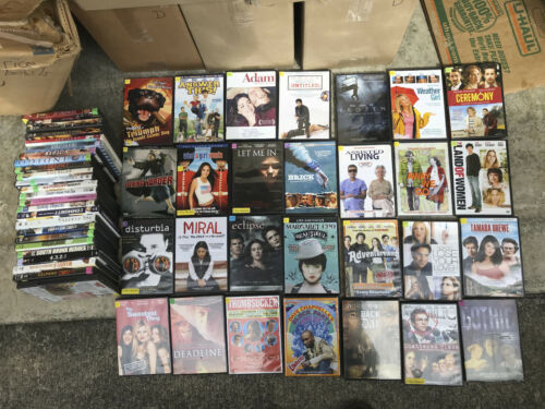 Lot of 39 Previously Viewed DVDs