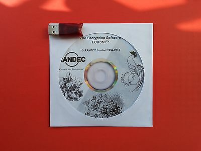 RANDEC FOKSS5th HL TIME Software+Aladdin HASP HL TIME USB Security Key dongle