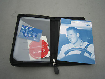 "FORD MONDEO 2003-2007  OWNERS MANUAL HANDBOOK PACK  WALLET"" EXCELLENT CONDITION"""