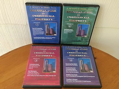 Colossal Cash In Commercial Property By Scott Scheel - 4 DVD Real Estate Course!