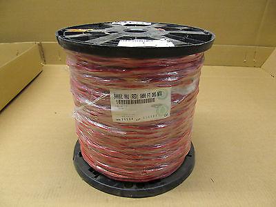 1 Nib Belden 5000ul 002 122 Fire Alarm Wire Red 1000ft