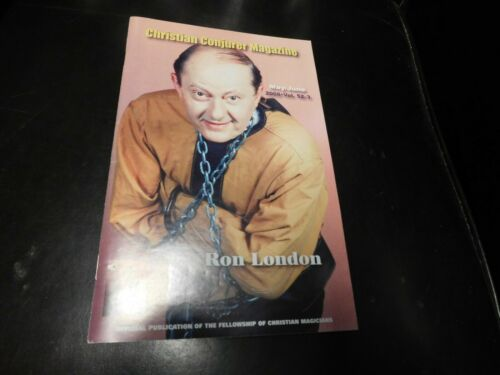 The Christian Conjurer Magic Magazine 2008 May June Ron London