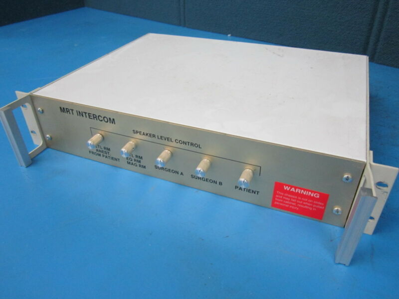 MRT Intercom Station Box for Surgery Room with 5 Channels