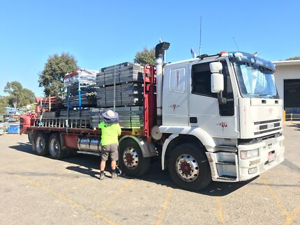 Forklift and Crane Truck Hire