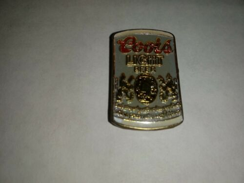 Vintage Coors Light Beer Can Pin